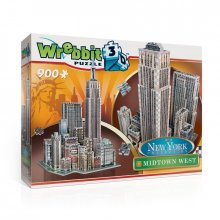 Wrebbit New York Collection 3D Puzzle Midtown West