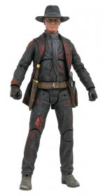 Westworld Akční figurka Man in Black Battle Damaged Previews Exc