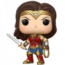 Justice League POP! figurka Wonder Woman 9 cm