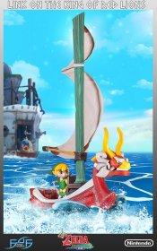 The Legend of Zelda The Wind Waker Socha Link on The King of Re