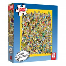 Simpsons skládací puzzle Cast of Thousands (1000 pieces)