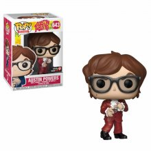 Austin Powers POP! Movies Vinylová Figurka Austin Powers Red Sui