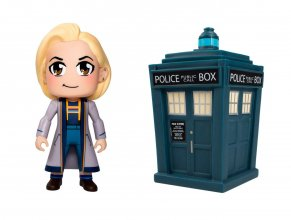 Doctor Who Titans Vinylová Figurka 2-Pack 13th Doctor Kawaii & T