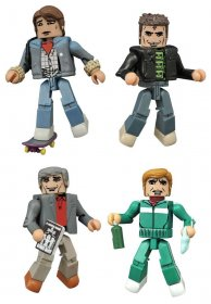 Back to the Future Minimates Action Figures 5 cm 30th Anniversar