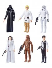 Star Wars Episode IV Retro Collection Akční Figurky 10 cm 2019