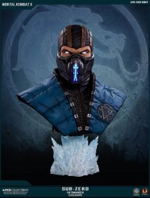 Mortal Kombat X Bust 1/1 Sub-Zero Cryomancer Exclusive 76 cm