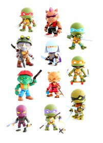Teenage Mutant Ninja Turtles Action Vinyl mini figurky 8 cm Wave