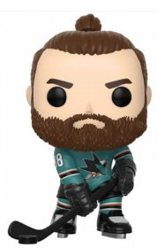 NHL POP! Hockey Vinylová Figurka Brent Burns (San Jose Sharks) 9