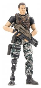 Aliens Colonial Marines Action Figure 1/18 Cruz Previews Exclusi