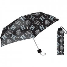 Harry Potter Folded Umbrella Bradavice Slogan