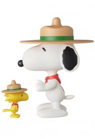 Peanuts VCD Vinyl Figures Beagle Scout Snoopy & Woodstock