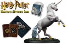 Harry Potter Miniature 35 mm Adventure Pack Unicorn *English Ver