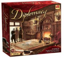 Avalon Hill desková hra Diplomacy english
