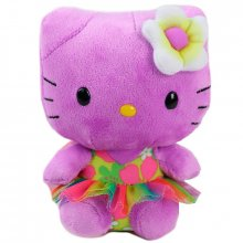 Hello Kitty plyšová hračka Purple Baby Kitty 15 cm