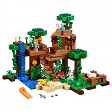 Stavebnice LEGO Minecraft The Jungle Tree House 21125