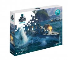 World of Tanks skládací puzzle Pan-Asian Destroyers (1000 pieces