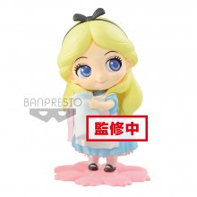 Disney Q Posket Sweetiny mini figurka Alice Milky Color Ver. 10
