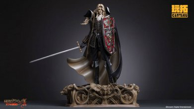Castlevania Symphony of the Night Socha 1/5 Alucard 48 cm