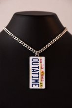 Back to the Future Necklace Outatime