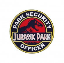 Jurassic Park Carpet Park Security Officer 80 cm