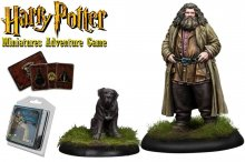 Harry Potter Miniatures 35 mm 2-pack Rubeus Hagrid *English Vers
