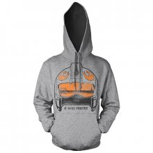 Hoodie mikina Star Wars X-Wing Fighter Helmet