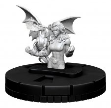 Marvel HeroClix Deep Cuts Unpainted Miniature Kitty Pryde Case (