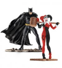 Justice League Figure 2-Pack Batman vs. Harley Quinn 10 cm