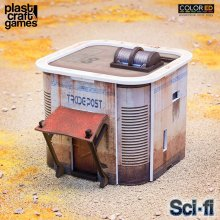 Sci-fi ColorED Miniature Gaming Model Kit 28 mm Consortium Trade