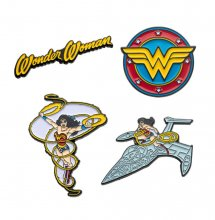 DC Comics Collectors Pins 4-Pack Wonder Woman