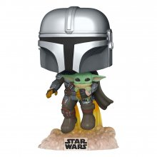 Star Wars The Mandalorian POP! TV Vinylová Figurka Mando Flying