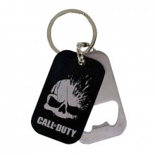 Call of Duty Keychain with Bottle Opener Dog Tag