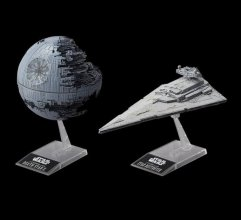 Star Wars Model Kit Death Star II & Imperial Star Destroyer