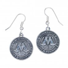 Harry Potter Ministry of Magic Naušnice (silver plated)