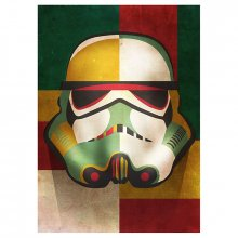 Star Wars kovový plakát Masked Troopers Shapes 32 x 45 cm