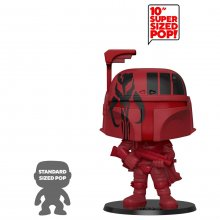 Star Wars Super Sized POP! Vinylová Figurka Boba Fett (Red) 25 c