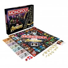 Avengers desková hra Monopoly *English Version*