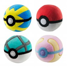 Pokemon Plush Pokeballs 7 cm Display D7 (6)