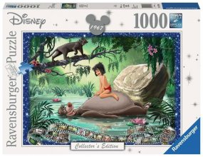 Disney Collector´s Edition skládací puzzle The Jungle Book (1000