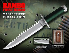 First Blood Replica 1/1 Knife Masterpiece Collection Standard Ed