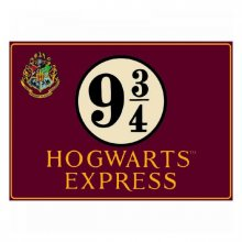 Harry Potter Tin Sign Platform 9 3/4 41 x 30 cm