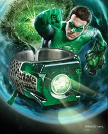 Green Lantern Movie světelný efekt Ring