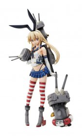 Kantai Collection -KanColle- PVC Socha 1/4 Shimakaze 45 cm