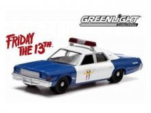 Friday the 13th kovový model 1/18 1978 Dodge Monaco Police