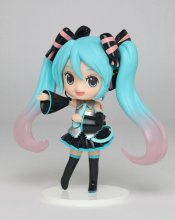 Vocaloid PVC Statue Miku Hatsune Doll Crystal (Game-prize) 14 cm