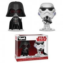 Star Wars VYNL Vinyl Figures 2-Pack Darth Vader & Stormtrooper 1