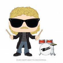 ZZ Top POP! Rocks Vinylová Figurka Frank Beard 9 cm