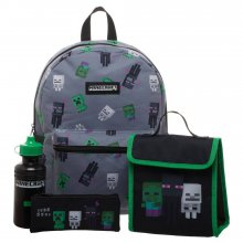Minecraft batoh Set Deluxe Creepers