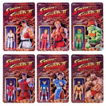 Street Fighter II ReAction Akční Figurky 10 cm Wave 1 Assortmen