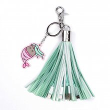 Pusheen USB Charging Cable 2in1 with Keychain Tassel